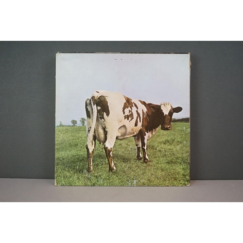 216 - Vinyl - Ten Pink Floyd LPs to include Atom Heart Mother, Ummagumma, Delicate Sound of Thunder, Wish ...