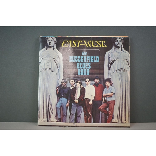217 - Vinyl - Eight vinyl LP's to include The Butterfield Blues Band - East West ((Edsel Records ED212) Re...