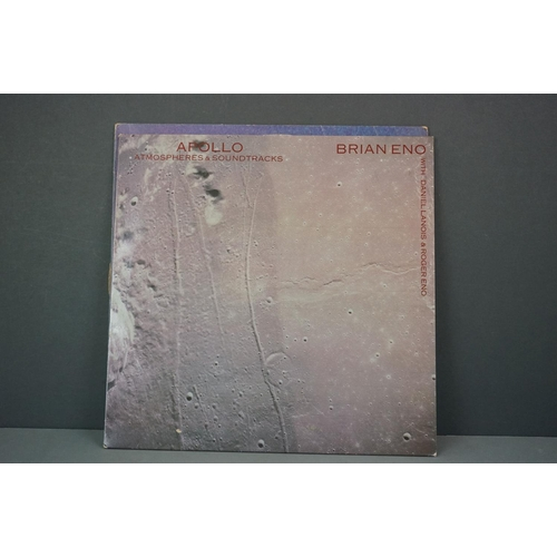 218 - Vinyl - Eleven Brian Eno vinyl LP's to include Before and after Science (Polydor Records 2302 071), ...