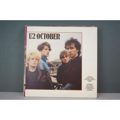 219 - Vinyl - Simple Minds & U2 collection of approx LP's including Simple Minds x 6 featuring Good News F...