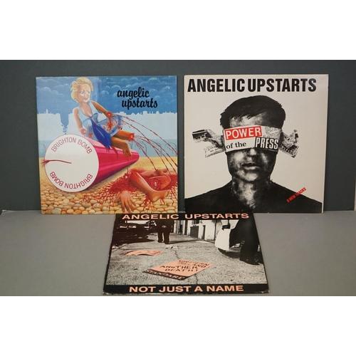 229 - Vinyl - Angelic Upstarts 1 LP and 2 12