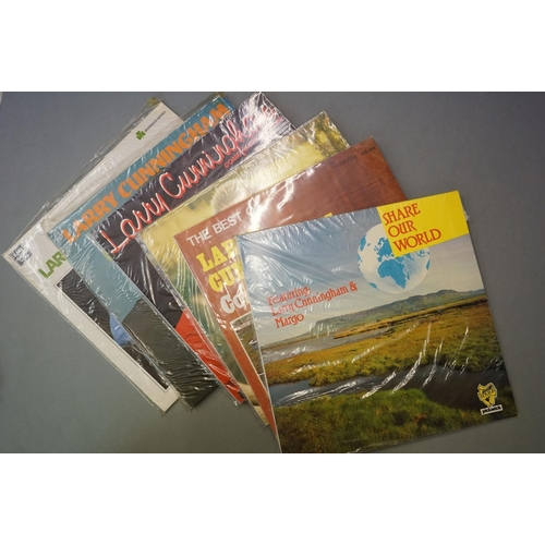 267 - Vinyl - Around 160 LPs to include Country, Pop, Easy Listening, etc, sleeves and vinyl vg+ (two boxe...
