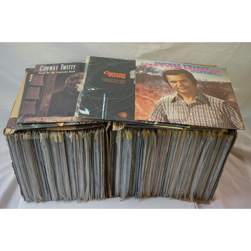 271 - Vinyl - Over 180 LPs spanning the genres, sleeves and vinyl vg+ (two boxes)