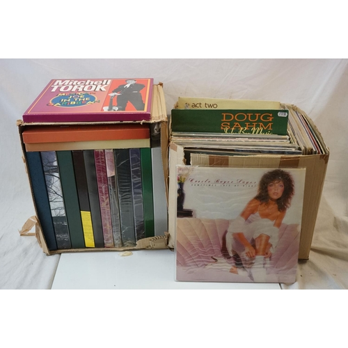 272 - Vinyl - Around 130 LPs and 14 Box Sets to include Charlie Wiseman, Mac Wiseman, Slim Whitman etc  (t...