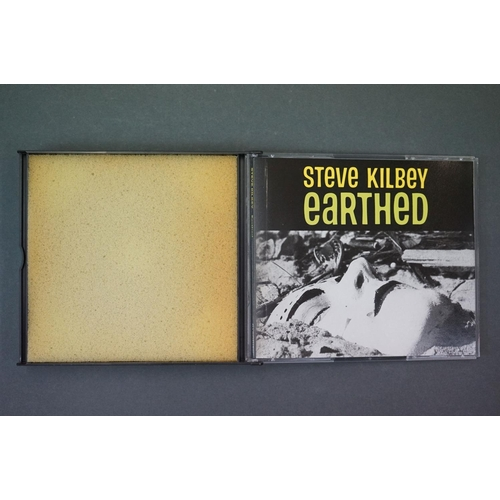 338 - Vinyl - Steve Kirby Unearthed LP on Enigma 3297-1 in ex condition, plus an Unearthed Double CD (2)