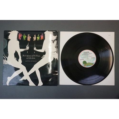 342 - Vinyl - Kevin Ayers 1 LP The Confessions Of Dr Dream (ILPS 9263) lyric inner plus 7 inch singles Car...