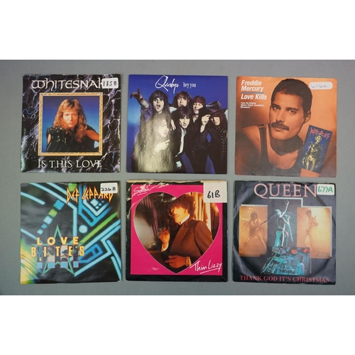 364 - Vinyl - Approx 35 vinyl 7