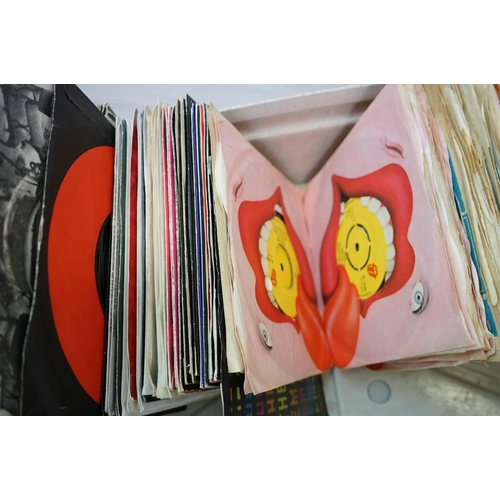 366 - Vinyl - Rolling Stones and members - Over 100 45s and EPs spanning the bands career in picture and c...
