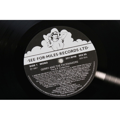 1083 - Vinyl - Three LPs on See For Miles Records to include The Hollies EP Collection SEE94, Gerry and the...