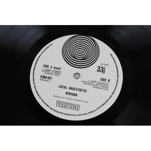 12 - Vinyl - Nirvana Local Anaesthetic LP on Vertigo VO 6360031 gatefold sleeve, swirl logo, swirl inner ...