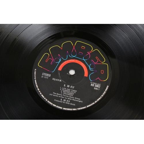 16 - Vinyl - 9.30 Fly self titled LP on Ember NR5062 stereo, textured gatefold sleeve, writing to inside ...