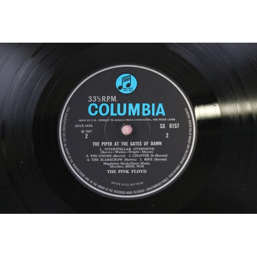 21 - Vinyl - Pink Floyd The Piper at the Gates of Dawn LP on Columbia SX6157 mono, blue/black label with ...