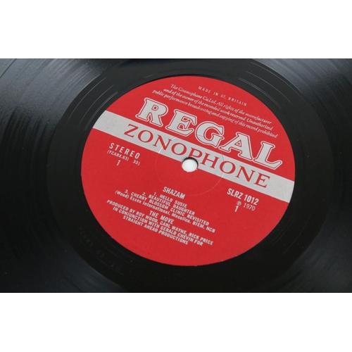 27 - Vinyl - The Move Shazam SLRZ1012 LP Stereo, side 2 matrix 1U, vg+-ex