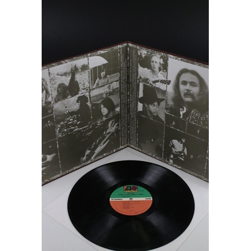 28 - Signed Vinyl - Crosby Stills Nash & Young Deja Vu LP US pressing on Atlantic SD19118, signed by all ...