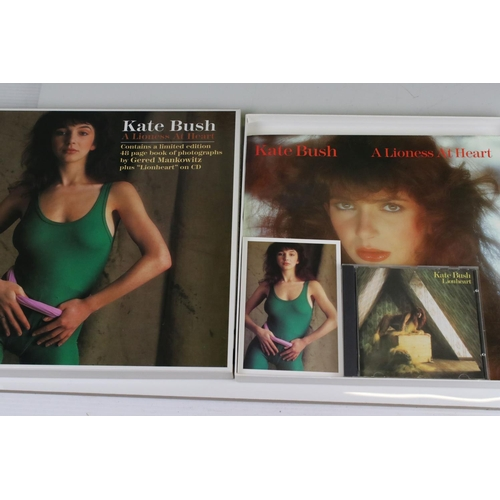 408 - Box Set - Scarce ltd edn Kate Bush A Lioness At Heart Box Set with postcard, 48 page booklet, poster...