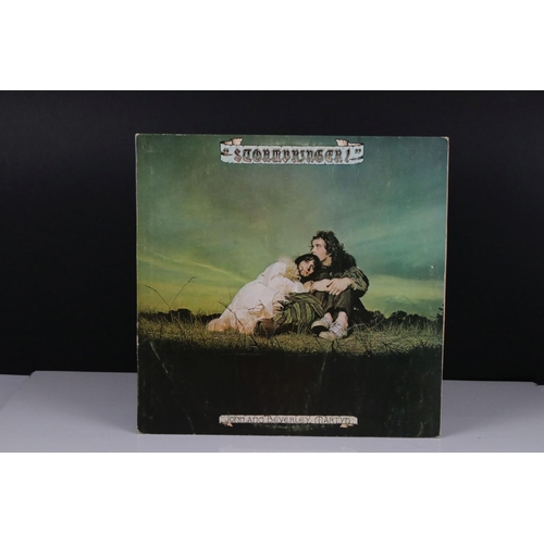 412 - Vinyl - John & Beveryly Martin Stormbringer LP on Island ILPS0113 with pink label and 'i' logo, vg/v...