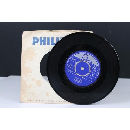 416 - Vinyl - The Muleskinners Back Door Man / Need Your Lovin' 45 on Fontana TF527 in Philips company sle...