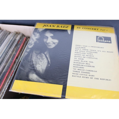 419 - Vinyl - Around 40 LPs from female artists to include Joan Baez, Nancy Sinatra, Nancy Wilson etc, sle...