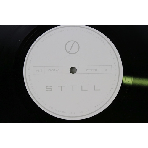 42 - Vinyl - Joy Division Still (FACT 40) gatefold edition with inners.  Ex/Ex possibly unplayed