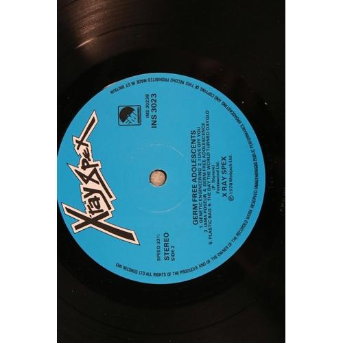 43 - Vinyl - X-Ray Spex Germfree Adolescents original UK pressing (EMI INS 3023) with printed inner.  Sle...