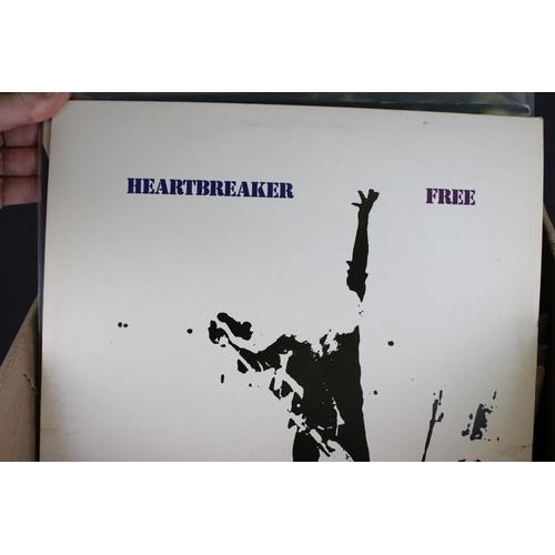 431 - Vinyl - Around 60 UK Rock LPs to include Wishbone Ash, Free, Gary Moore, The Move, Mott The Hoople, ...