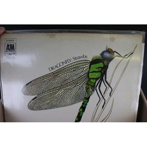 440 - Vinyl - Around 30 Folk LPs to include The Strawbs, Pentangle, Richard & Linda Thompson, Fairport Con...