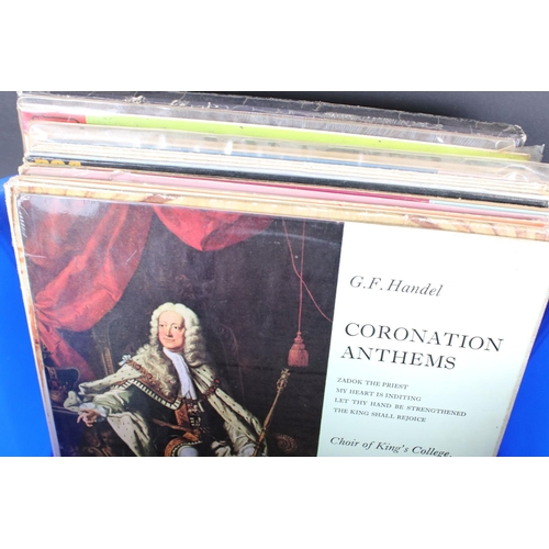 451 - Vinyl - Classical & mixed genres, a collection of approx. 50 LPs, mostly classical, sleeves and viny...
