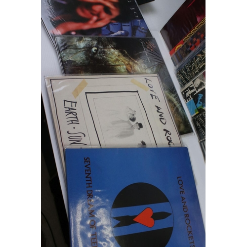 46 - Vinyl - Approx 21 New Wave Goth LP's including Siouxsie & The Banshees x 12 (including a 12