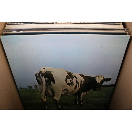 471 - Vinyl - Around 26 Pink Floyd LPs to include The Wall x 2, Animals x 2, Delicate Sound of Thunder x 2...