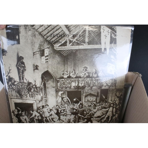 472 - Vinyl - Around 30 Rock LPs to include Led Zeppelin, Jethro Tull, Syd Barrett, Caravan, Pink Floyd, R...
