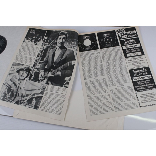 6 - Vinyl - The Who My Generation LP on Brunswick LAT8616 mono with laminated front sleeve, silver & bla...