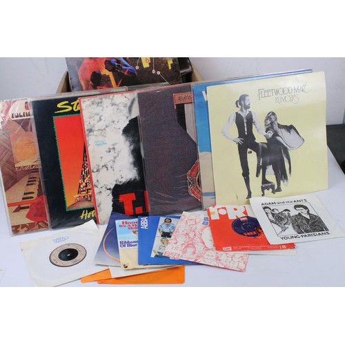 240 - Vinyl - Approx 30 vinyl LP's spanning the decades and the genres to include Marc Bolan, Wings, Fleet...