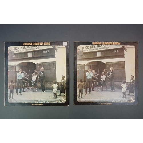 1098 - Vinyl - Six Creedence Clearwater Revival vinyl LP's to include Cosmo's Factory (Liberty Records LBS ...
