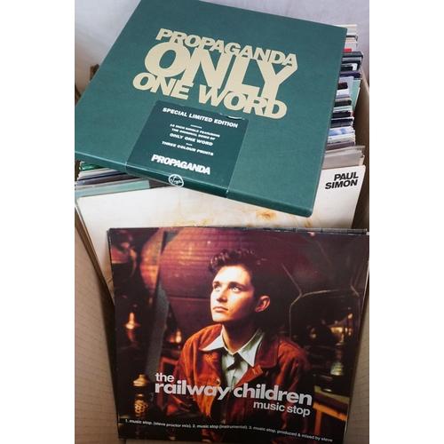 213 - Vinyl - Approx 100 vinyl LP's and 12