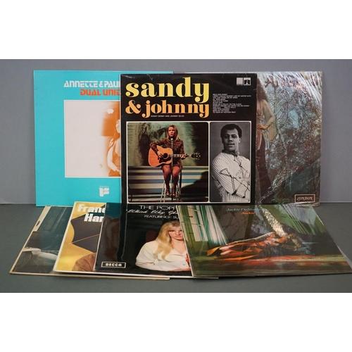 1192 - Vinyl - Seven vinyl LP's to include Fiends & Angels - Martha Velez (London Records HAK 8395), Dual U...