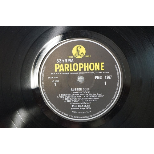 1197 - Vinyl - The Beatles 4 LP's to include Beatles For Sale (PMC 1240) mono, flipback sleeve, matrices XE...
