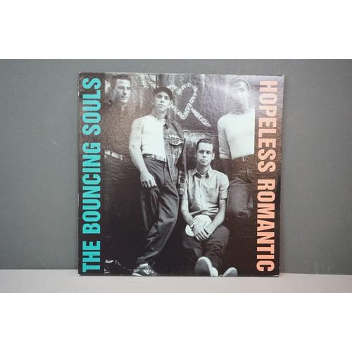 308 - Vinyl - The Bouncing Souls Hopeless Romantic LP on Epitaph 86550-1, with insert, sleeve vg+, vinyl e...