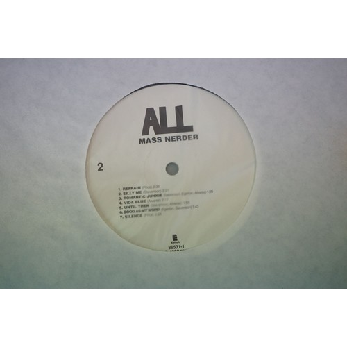 309 - Vinyl - All Mass Nerder LP on Epitah 86531-1 with insert, sleeve vg++, vinyl vg+ with smudge marks a...