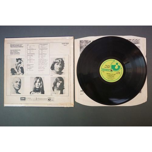 345 - Vinyl - Kevin Ayers Shooting At The Moon (SHSP 4005) no EMI to label, Harvest inner.  Sleeve & Vinyl...