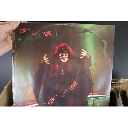 455 - Vinyl - Approx 80 mainly rock & pop LP's featuring Emerson Lake & Palmer, T-Rex, Cat Stevens, Mike O...