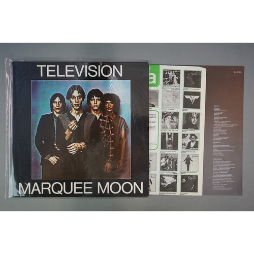 1199 - Vinyl - 6 US Punk LP's including Television x 3, The Ramones x 2 (including the self titled debut UK...