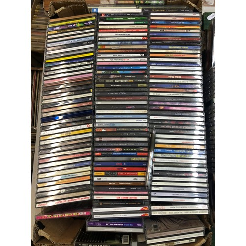 269A - CD's over 500 CD's spanning genres and decades including many pop and rock and some compilations