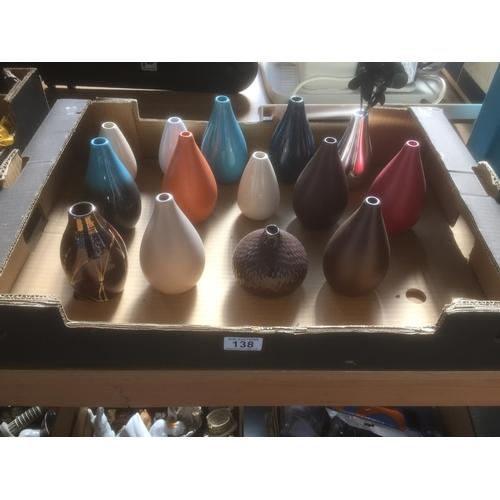 138 - Box of Vases...