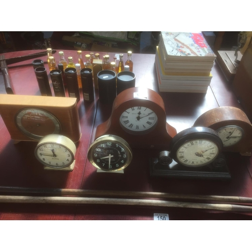 149 - Quantity of Retro Clocks...