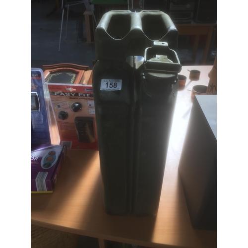 158 - 20L Metal Petrol Can...