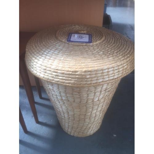 164 - Wicker Linen Basket...