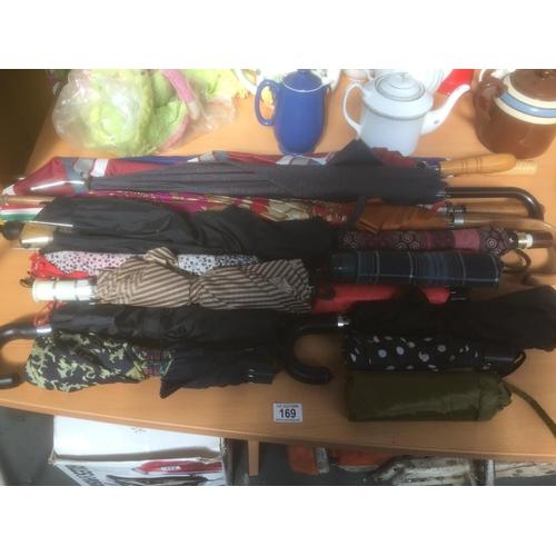 169 - Large Quantity of Umbrellas...