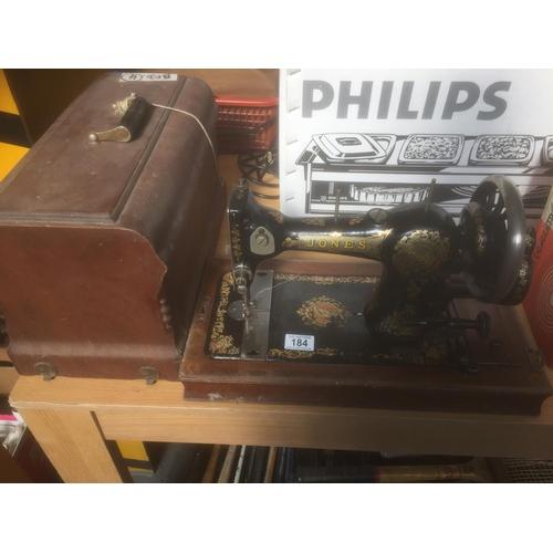 184 - 1930's Jones Sewing Machine...