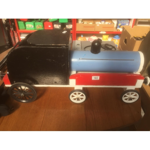 193 - Large Wooden Childs Train...