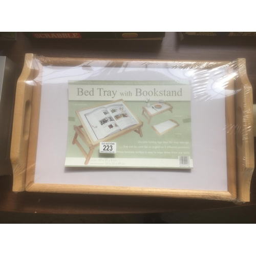 223 - Bed Tray & Book Stand - New...